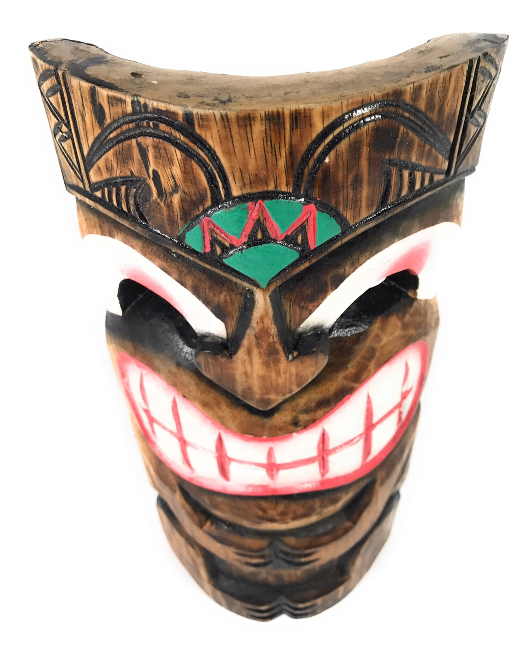 "Smiley Tiki Mask 12/"" Happy Tiki Idol#dpt514430"