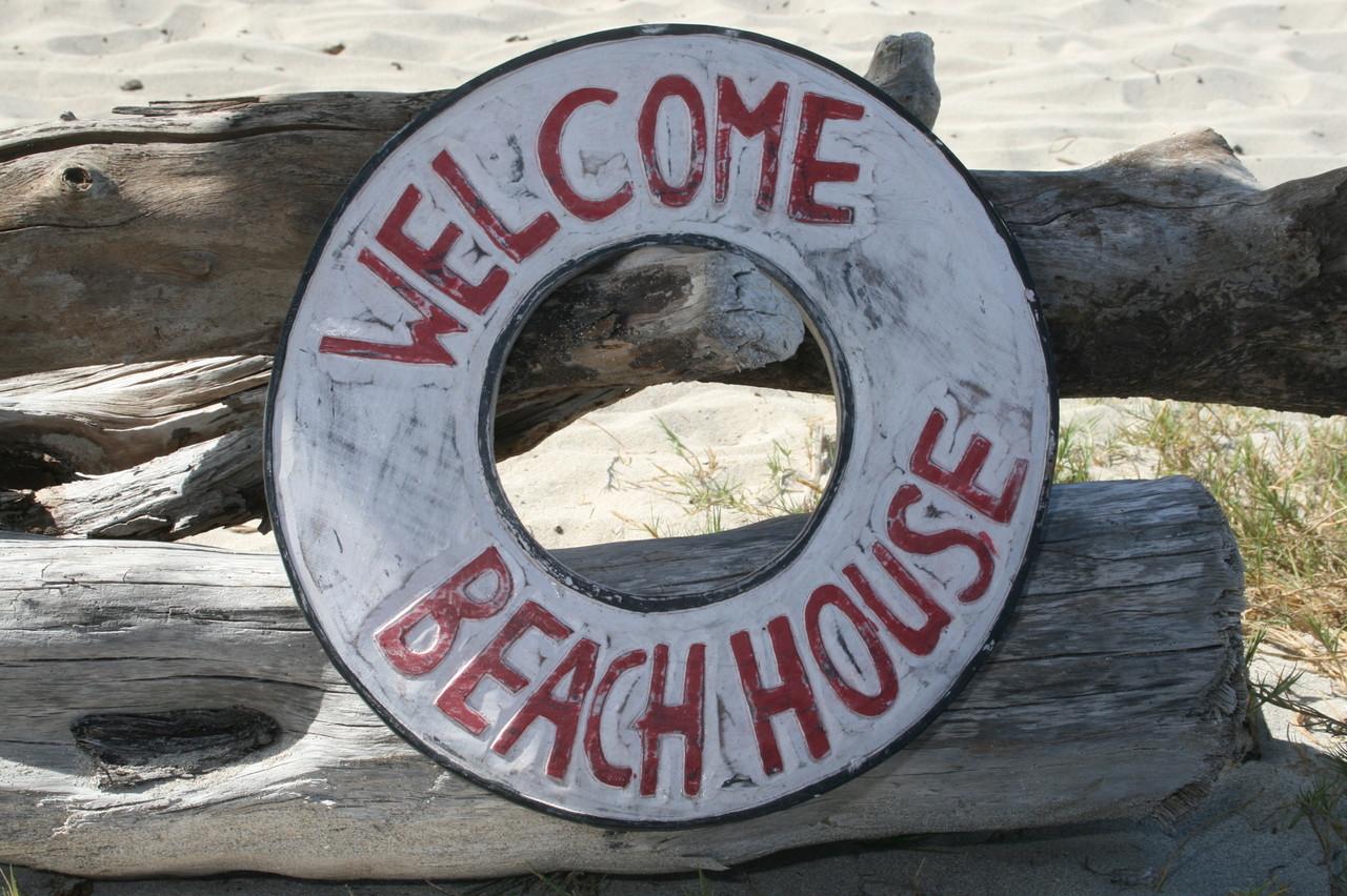 Welcome Beach House Sign 16 Beach Coastal Decor Bds1207540