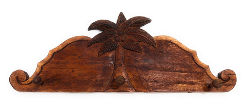 "Palm Tree Hanger 20"" w/ 3 Pegs - Tropical Decor | #dpt510750"