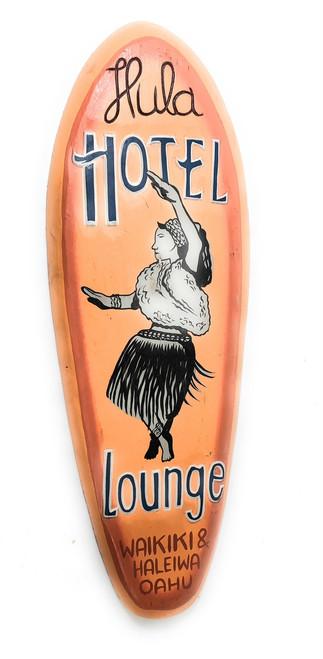 """Hula Hotel Lounge"" Vintage Replica - 30"" Hawaiian Heritage | #dpt505975"