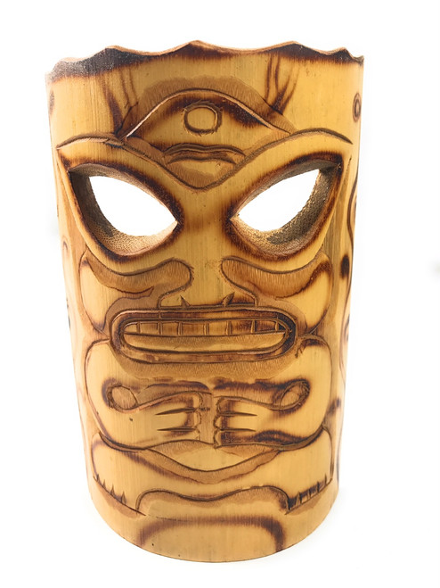 "Strength Bamboo Tiki Mask 7"" | #bag1502417"