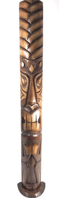 Big Kahuna Tiki Mask on stand 60"
