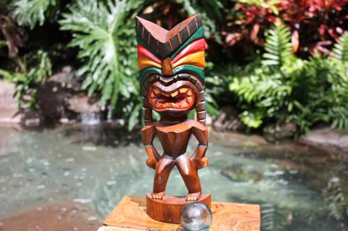 "Love Tiki God 16"" - Hand Carved - Hawaii Treasure | #bag15027a40"