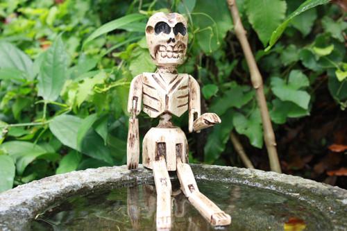 "Decorative Skeleton 15"" - Wall hanging Skull Decor   #kng21033"