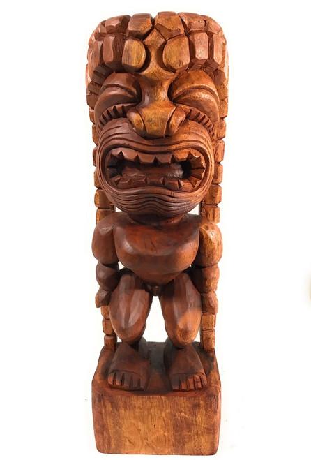 "Traditional Kanaloa Tiki 24"" - Hawaii Museum - Hawaii Heritage   #bla605660"