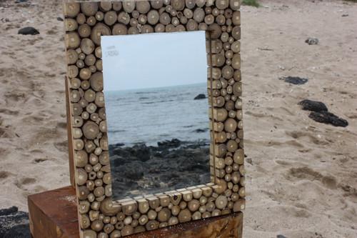 "Teak Root Mirror 20""x16"" - Coastal Living"