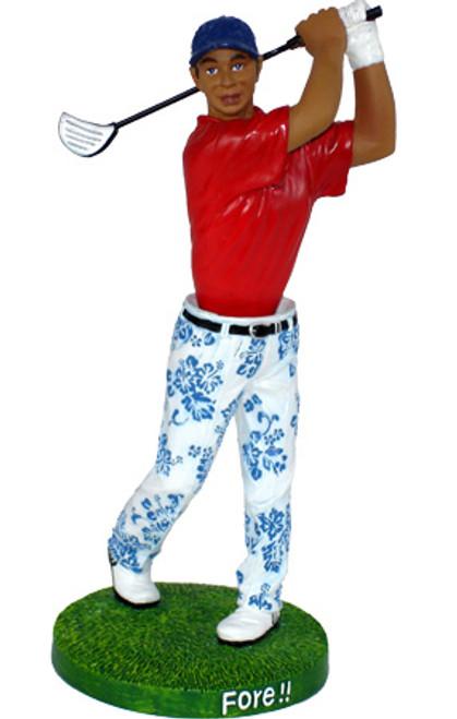 """Golfer"" Fore! Island Dashboard - Hawaiian Gift | #kc40771"