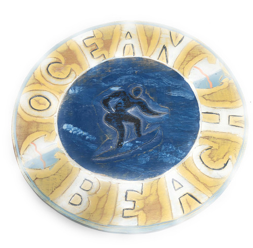 "Ocean-Beach Sign 12"" - Decorative Cottage Sign | #dpt523125"