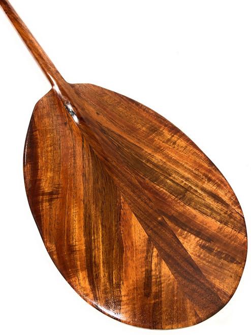 """Unique Curly Koa Paddle 50"""" T-Handle - Made In Hawaii   #koa3278"""
