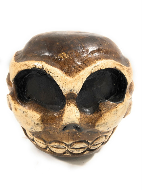 "Skull Bowling Ball 6"" - Decorative Skull Decor 