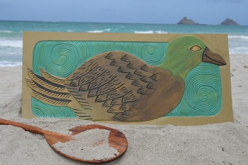 """Hawaiian Nene Bird, Endangered Species 30"""" X 15"""" - Hawaiian Wall Art   #dpt518675"""