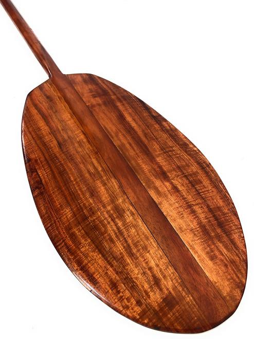 "Hokulea Premium Koa Paddle 60"" Steersman Wall Hanging | #koa1676"