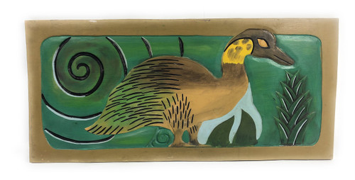 "Hawaiian Geese Nene, Endangered Species 30"" X 15"" - Hawaiian Art 