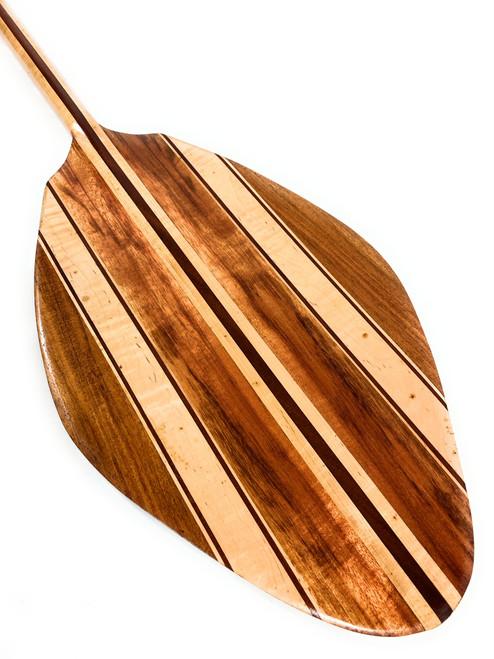 Premium Alii Design Paddle Koa & Bird Eye Maple 60 inch | #koa3818