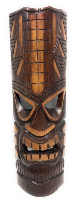 "Prosperity Tiki Mask 20"" - Hand Carved | #bag1505050"