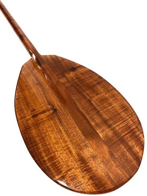 "Premium Curly Koa Paddle 50"" T-Handle - Made In Hawaii   #koa3297"