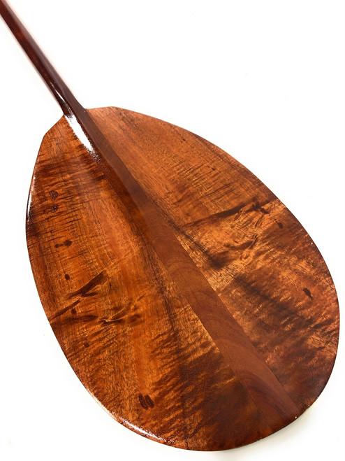 "Premium Koa Paddle 50"" T-Handle - Decorative Oar Made In Hawaii | #koa3048"