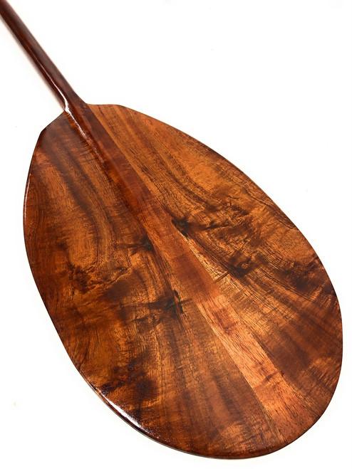 """Premium Deep Tone Hawaiian Koa Paddle 50"""" T-Handle - Made In Hawaii   #koa3249"""