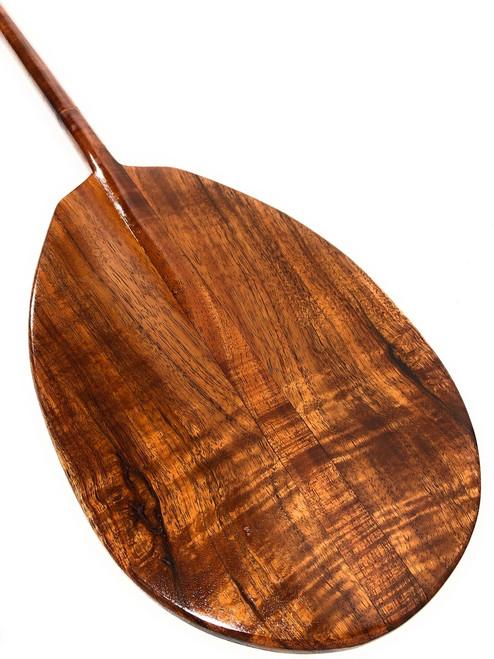 "Deep Tone Premium Koa Paddle 50"" T-Handle - Made in Hawaii   #koa5006"