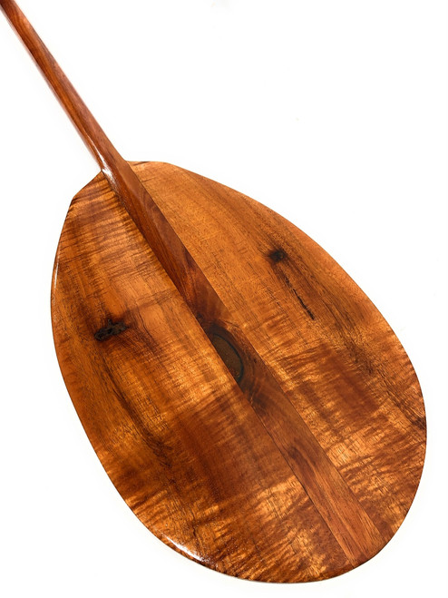 """Unique Character Premium Hawaiian Koa Paddle 50"""" T-Handle   #koa3058"""
