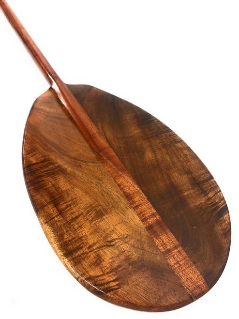 "Deep Tone Curly Koa Paddle 50"" T-Handle - Made in Hawaii | #koa5008"