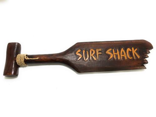 """Surf Shack"" Hanging Paddle - 20"" - Surf Decor | #ksa903360"