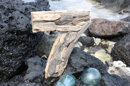 """7"" Driftwood Number 10"" Home Decor - Rustic Numerical 