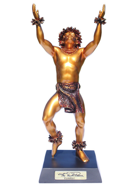 """""""Kamalani"""" Hawaiian Hula Dancer Statue - Kim Taylor Reece   #ktr696933145873"""
