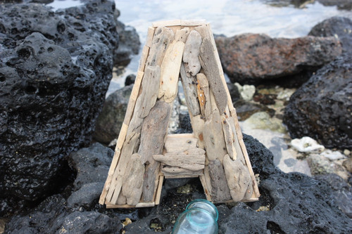 """""""A"""" Driftwood Letter 10"""" Home Decor - Rustic Accents 