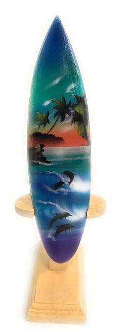 "Surfboard w/ Stand Island Lifestyle Design 6"" - Trophy   #lea01j15"