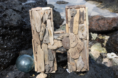 """""""H"""" Driftwood Letter 10"""" Home Decor - Rustic Accents 