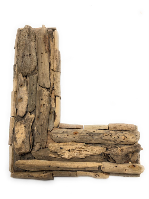 """L"" Driftwood Letter 10"" Home Decor - Rustic Accents 