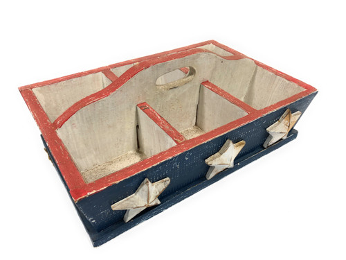 USA Divider Tray 6-Compartment - Texas Americana Decor | #ort17090a