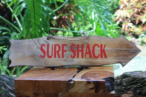"Surf Shack Driftwood Sign 20"" - Tiki Bar Decor | #snd2505750"