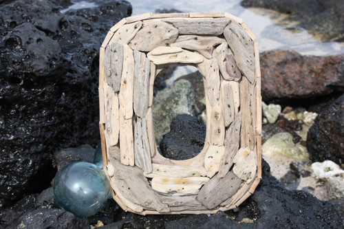 """""""O"""" Driftwood Letter 10"""" Home Decor - Rustic Accents 