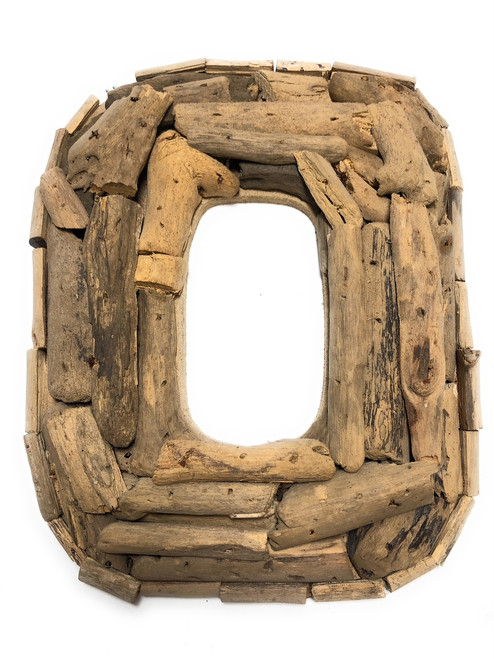 """O"" Driftwood Letter 10"" Home Decor - Rustic Accents 
