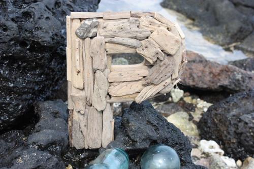"""P"" Driftwood Letter 10"" Home Decor - Rustic Accents | #lis31001p"