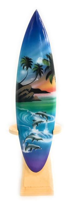 "Surfboard w/ Stand Island Lifestyle Design 8"" - Trophy | #lea02j20"