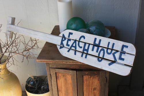 "Beach House Nautical Hanging Oar w/ Slats 40"" - Wall Hanging | #snd25013100"