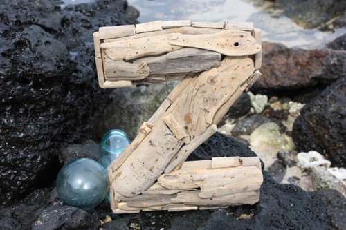 """""""Z"""" Driftwood Letter 10"""" Home Decor - Rustic Accents 
