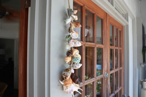 "Seashell Garland Assortment 26"" - Coastal Decor   #sur2800970"