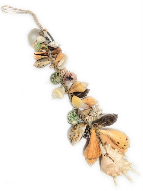 "Seashell Garland Assortment 26"" - Coastal Decor 