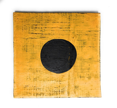 """I Nautical Alphabet Wooden Plaque 7"""" X 7"""" - Coastal Decor   #skn16017i"""