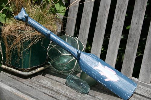 """Oar Hanger 22"""" w/ 3 Pegs - Blue Nautical Accessories    #ort1701755b"""