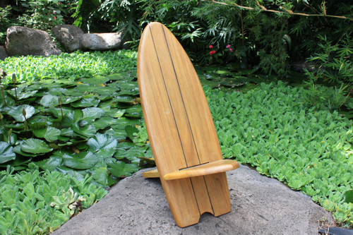 LONGBOARD SURF CHAIR 2-STRINGER DESIGN - POOL DECOR