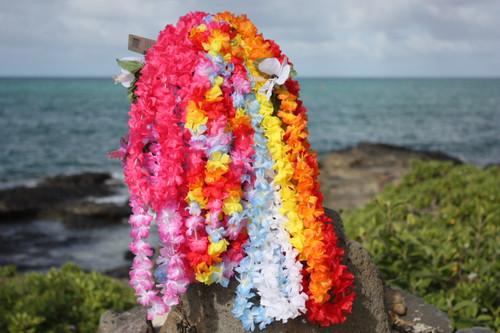 7th Heaven Silk Hawaii Leis, 12-Pack - Silk Lei Luau Decor