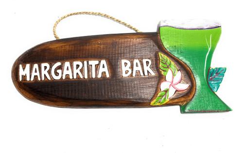 "Margarita Bar Sign 12"" - Decorative Tiki bar Signage   #snd2503330"
