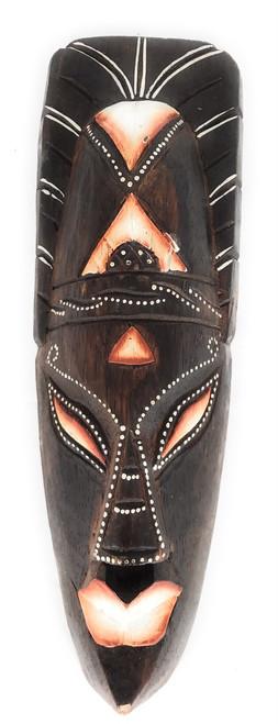 "Tribal Chief Tiki Mask 12"" - Primitive Art | #wib370530c"