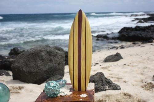 "Classic Surfboard 20"" - Surf Decor Hawaii - Trophy | #lea05a50"