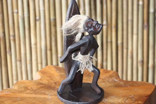 "Dude Waikiki Style Crazy Primitive 9"" - Tribal Decor | #lge24014"